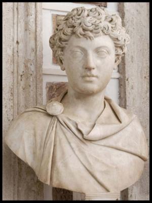 Marcus Aurelius as a boy ( image link ).