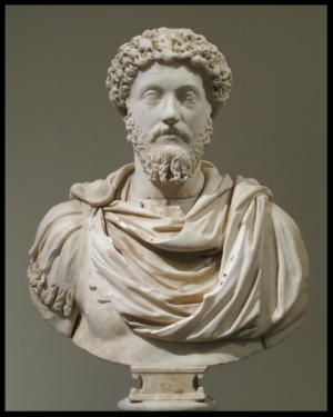 Emperor Marcus Aurelius.