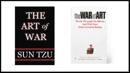 Two fantastic books. To read my article on   The Art of War , click here.