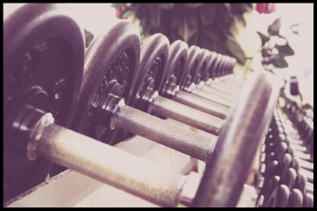 Lifting weights can help lift your mood.