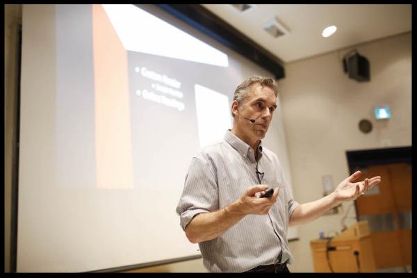 Author Dr. Jordan B. Peterson