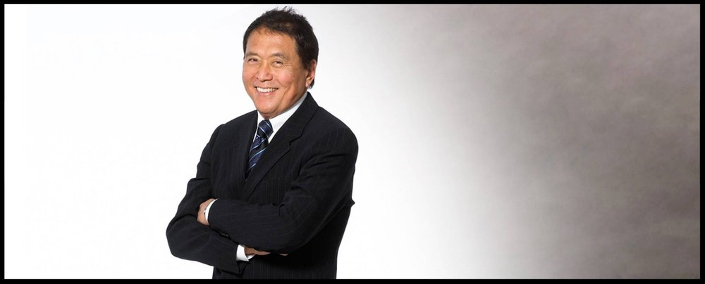 "Robert Kiyosaki, author of the bestselling book ""Rich Dad, Poor Dad."" Kiyosaki has authored more than 15 books to date."
