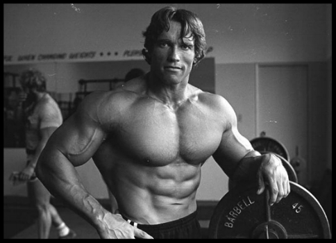 Arnold advises readers to train the body and the mind.