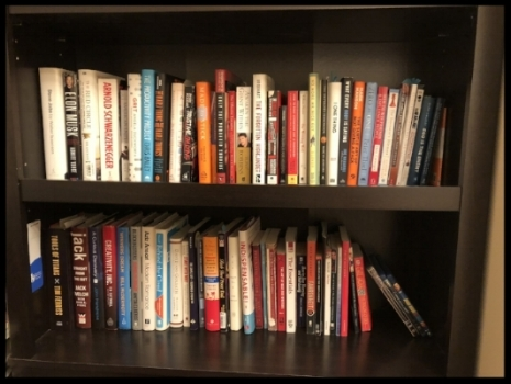 A 'few' of my books.