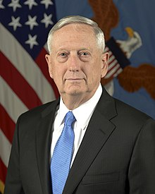 Secretary of Defense James Mattis.