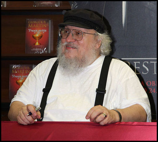 Author George R.R. Martin.