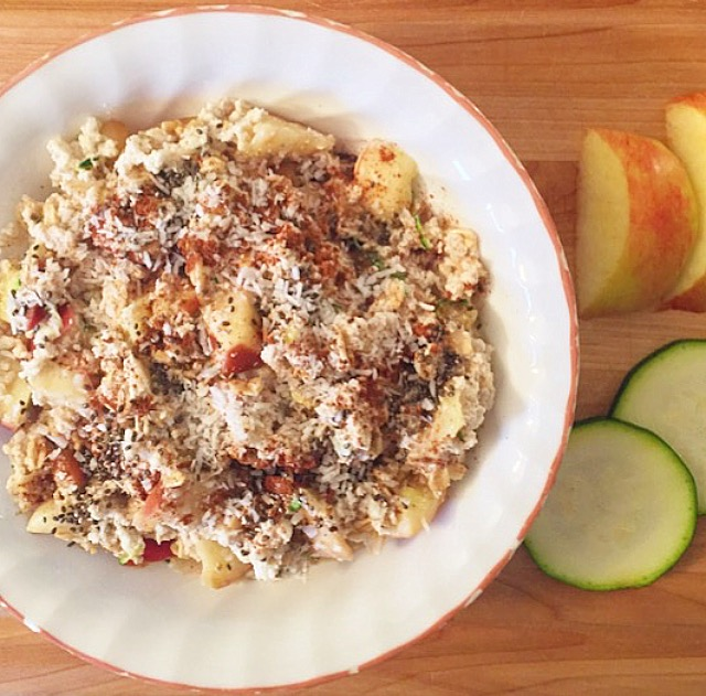"Apple Cinnamon Protein ""Zoats"""