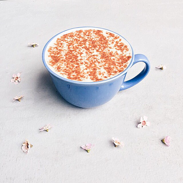 Dandelion Tea Latte
