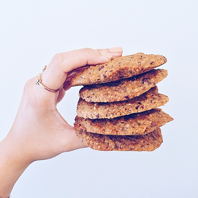 Copy of Almond Butter Chia Cookies