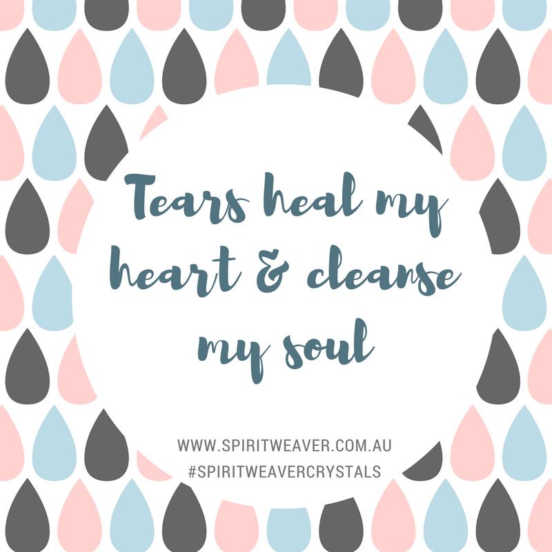 Tears Are Healing