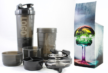 21 oz Plastic Shaker Cup
