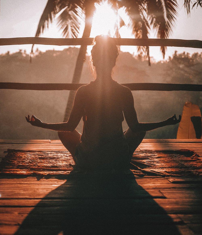 Meditation and Yoga   (Photo by    Jared Rice    on    Unsplash   )