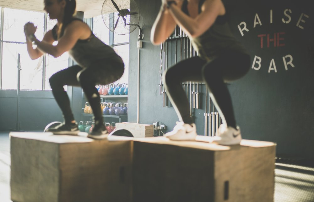 Gym   (Photo by    Meghan Holmes    on    Unsplash   )