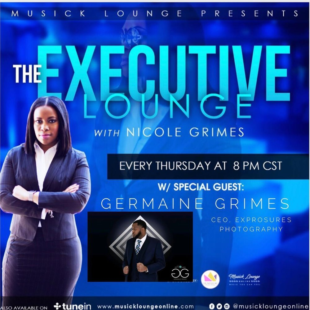 Thursday, February 8 - Germaine Grimes, Founder/CEO exPROsures PhotographyTopic: Balancing a 9-5 while being an Entrepreneur