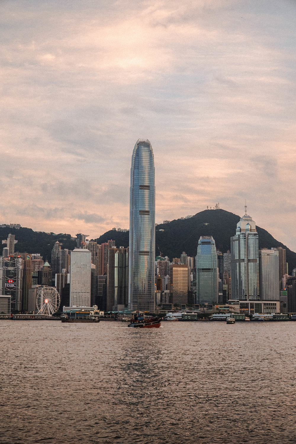 Just near the ferry piers you will find this beautiful view from Hong Kong main land looking at Hong Kong Island.
