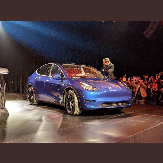 #Tesla is unveiling its new model Y SUV tonight. Seats 7! What do you think? #ElectricVehicle #EV #TeslaLife #Route97 #ExploreBC #SustainableTourism #ExploreVernon #ExploreKelowna