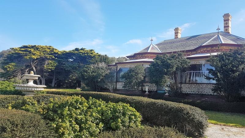 The original homestead overlooks Swan Bay to Queenscliff