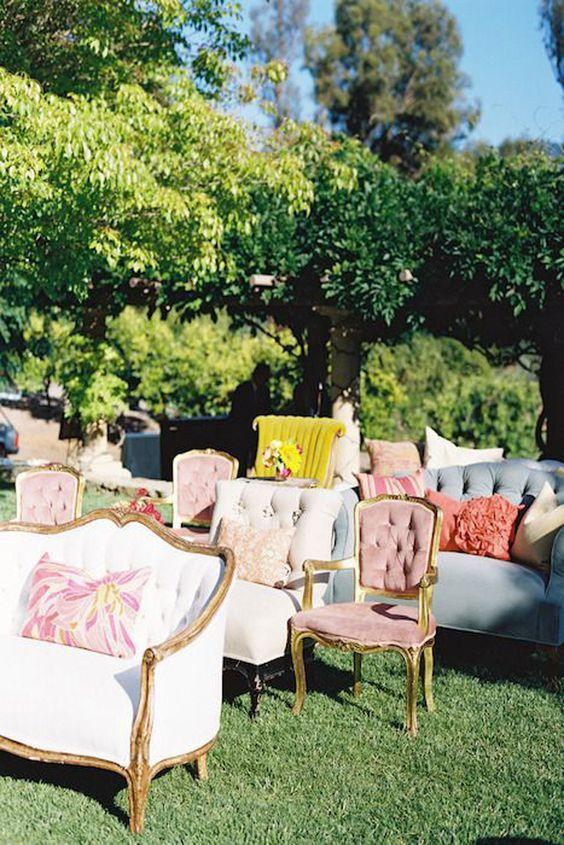 Stunning for a garden wedding!