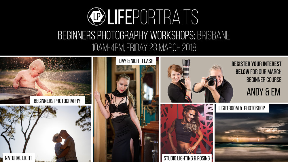 Life Portraits: Brisbane Photography Training
