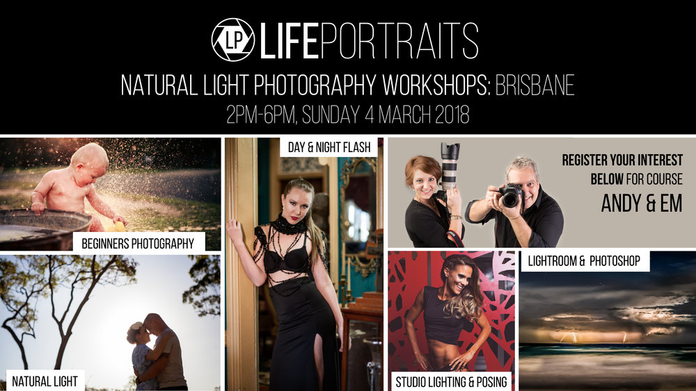 Life Portraits: Brisbane Photography Training
