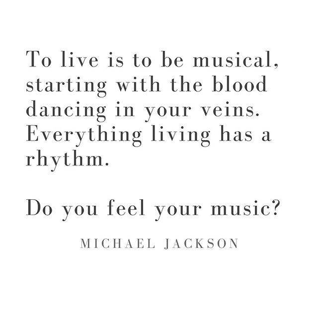 Ever thought you weren't musical? Think again. We are all musical beings from the rhythm of our hearts to the pitch of our voices 🥁🎵⠀⠀ .⠀⠀ .⠀⠀ .⠀⠀ #music #rhythm #musicalbeing #qotd