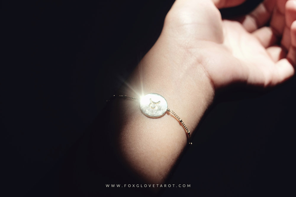 Gold Taurus Astrolocket Bracelet by COVEN (get yours at www.covencurio.com)