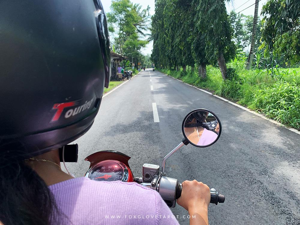 Honestly, riding a bike in Yogyakarta feels so much safer than riding a bike in Bali.