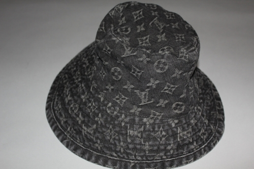 Louis Vuitton Denim Bucket Hat — glamified 5c41a869715