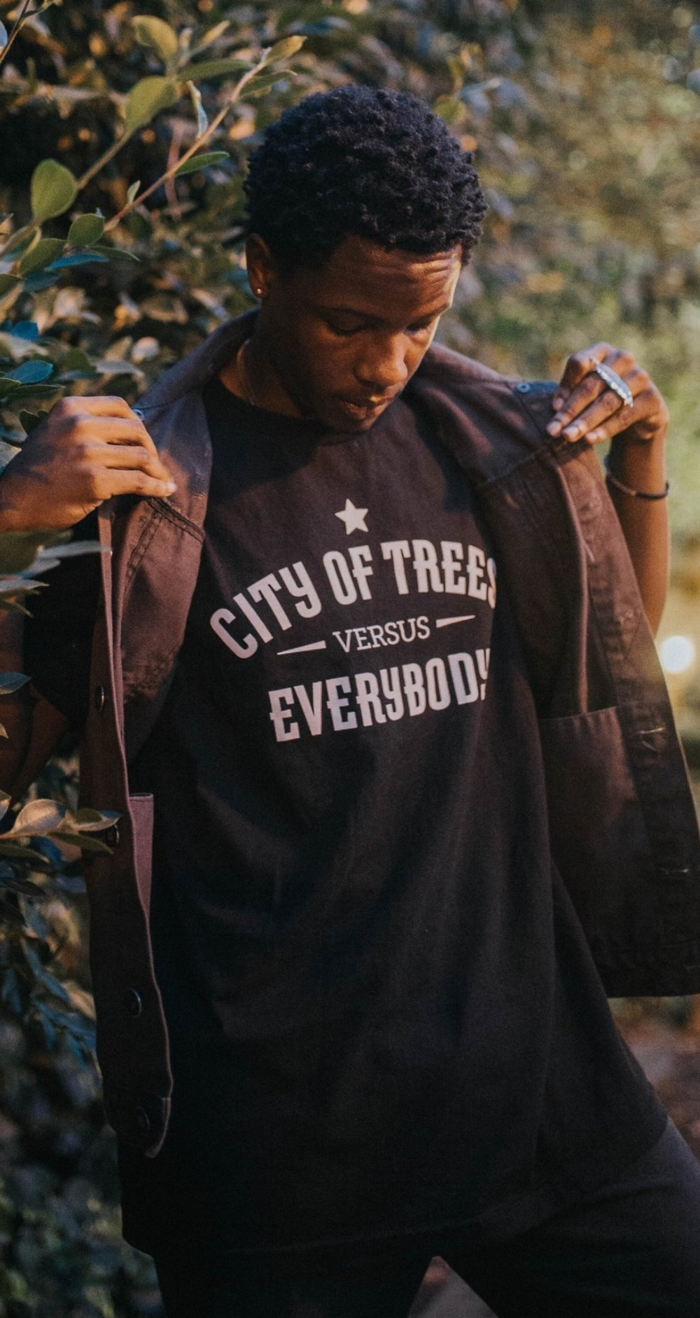 City of Trees Versus Everybody                                     Black T-Shirt