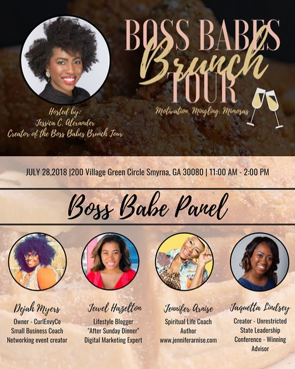 Atlanta Boss Babes, time is running out! Get your tickets to the Boss Babes Brunch Tour before sales end tonight! Visit https://bossbabesbrunchtouratl.eventbrite.com #bossbabesbrunchtour #bossbabesbrunch #bossbabes #atlantabossbabes #atlanta #atl #atlantanetworking #atlantaentrepreneur #bossup #womenempowerment #womensempowerment #femaleentrepreneur #entrepreneurship #buildyourbusiness #empowerment #empoweringwomen #branding #marketing #operationevolve #educate #empower #evolve #404