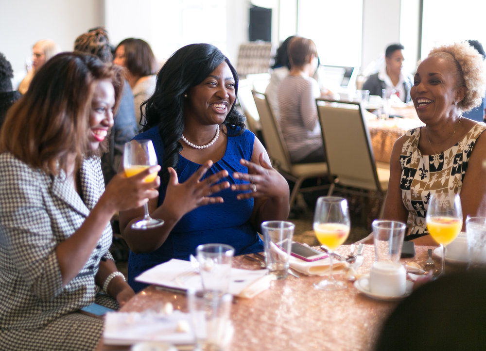 Mimosas - What is brunch without mimosas?! We cannot wait to pour a glass of bubbly and toast to business growth, new relationships, and brands that make a difference!