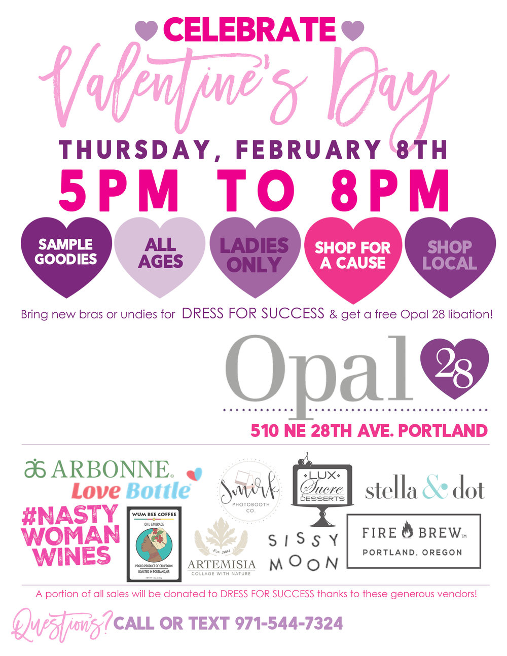 Join NASTY WOMAN WINES And Opal 28 In Portland, OR On Thursday, February  8th From 5 8pm For A Valentineu0027s Day Ladies Night Out! This Free Event For  Ladies ...