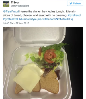 Bad online giving day technology is a little like the food at Fyre Festival - all hype and no substance.