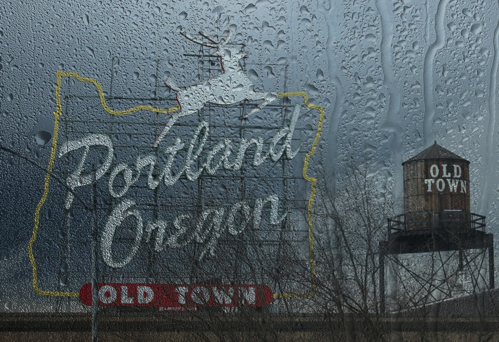 For those of us in Portland, the coming forecast couldn't be more beautiful starting on Sunday - rain, rain, rain.