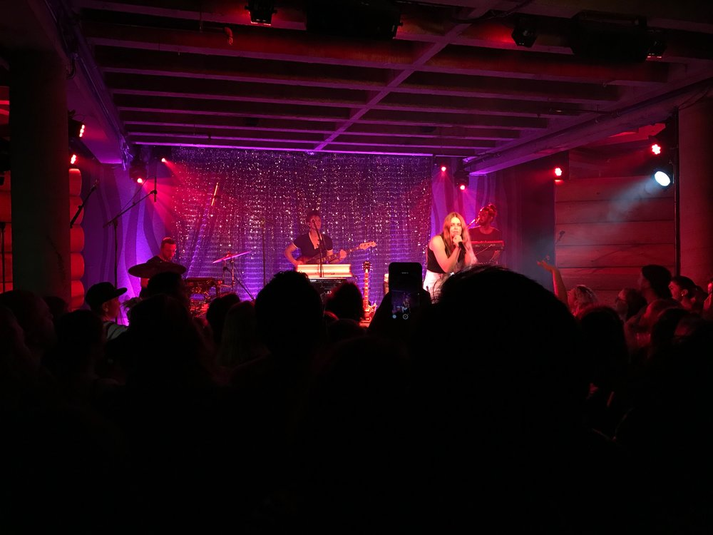 Maggie Rogers - Doug Fir - Pic by Hans' iPhone