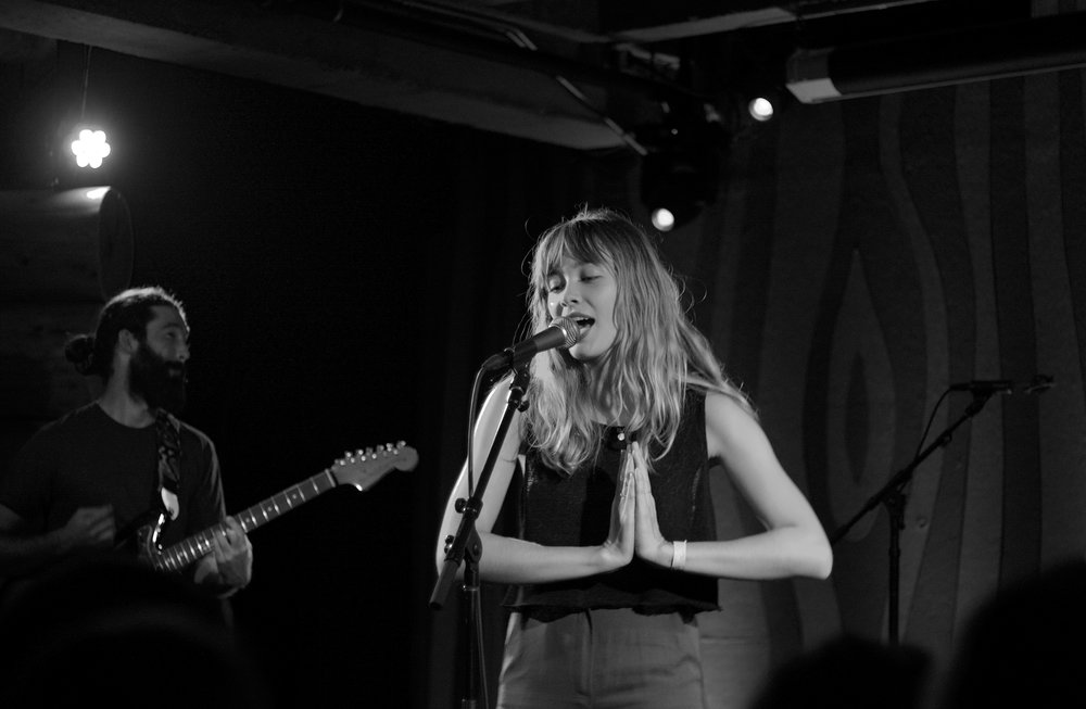 Second favorite pic of September - Alexandra Savior at Doug Fir - Pic by Hans