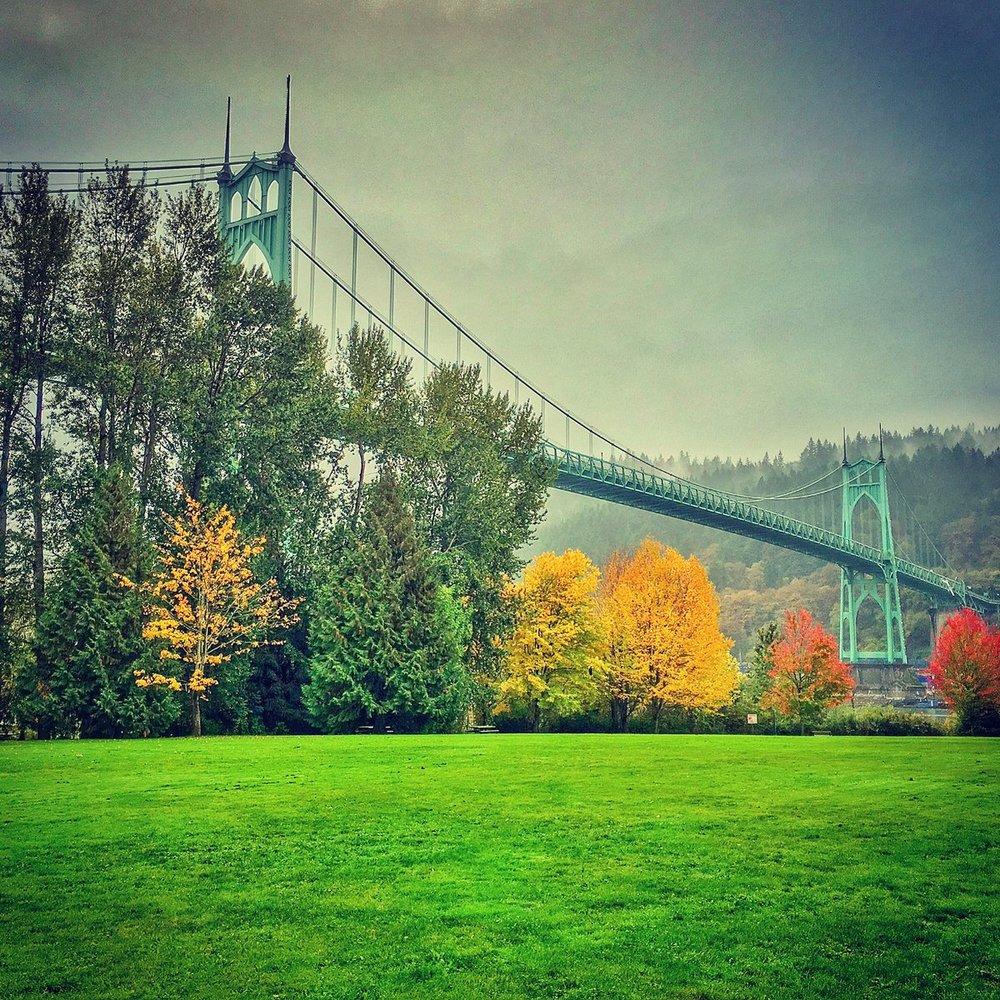 Fall in Portland - Pic from  @  ksherwani