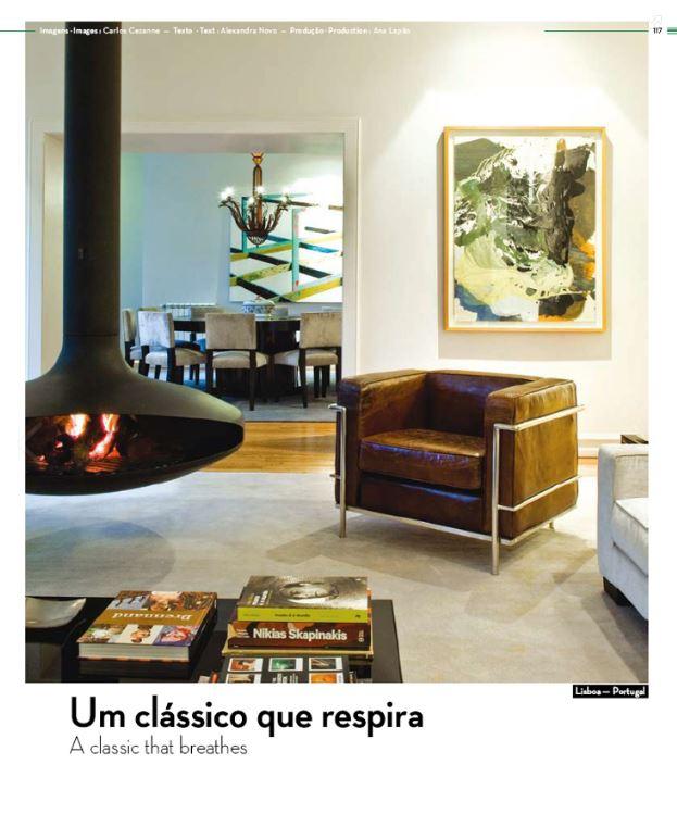 """ATTITUDE MAGAZINE    """"Um clássico que respira"""" (January 2013)"""