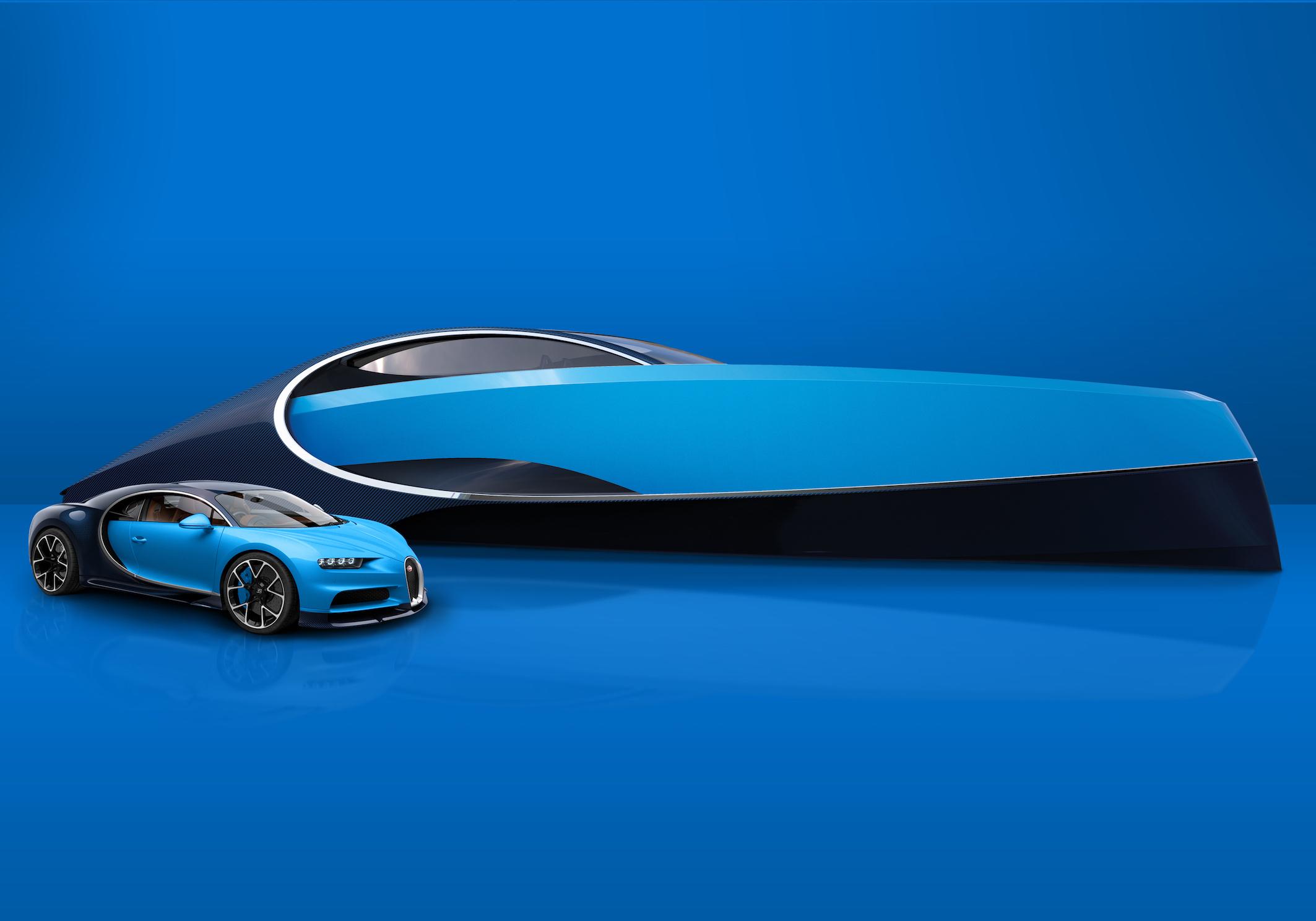 Bugatti Niniette 66 Palmer Johnson For Bugatti Super Sport Yacht