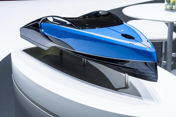 geneva motor show — bugatti niniette 66 - palmer johnson for bugatti