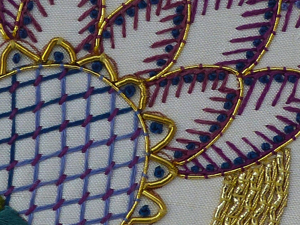 GOLDwork & SILK WORK  -