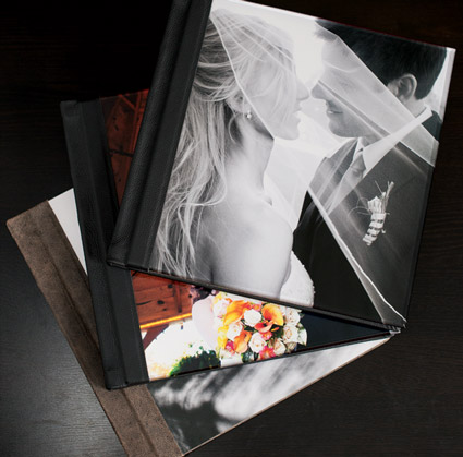 NH Wedding Photographer Album: Premium covers like canvas, wood, and metal.