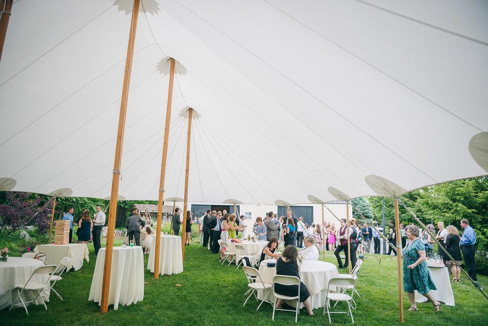NH Wedding Photographer: cocktail hour at BVI