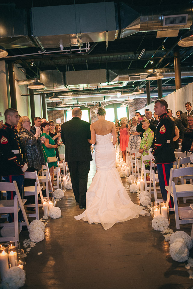 NH Wedding Photographer: ceremony at Rivermill