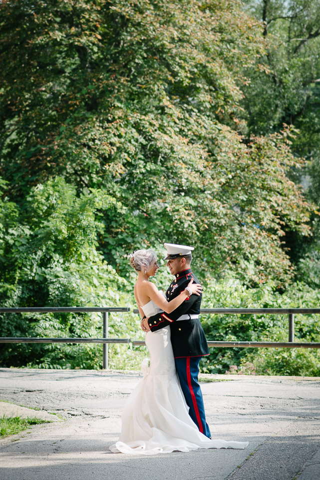 NH Wedding Photography: Outside Rivermill in Dover NH