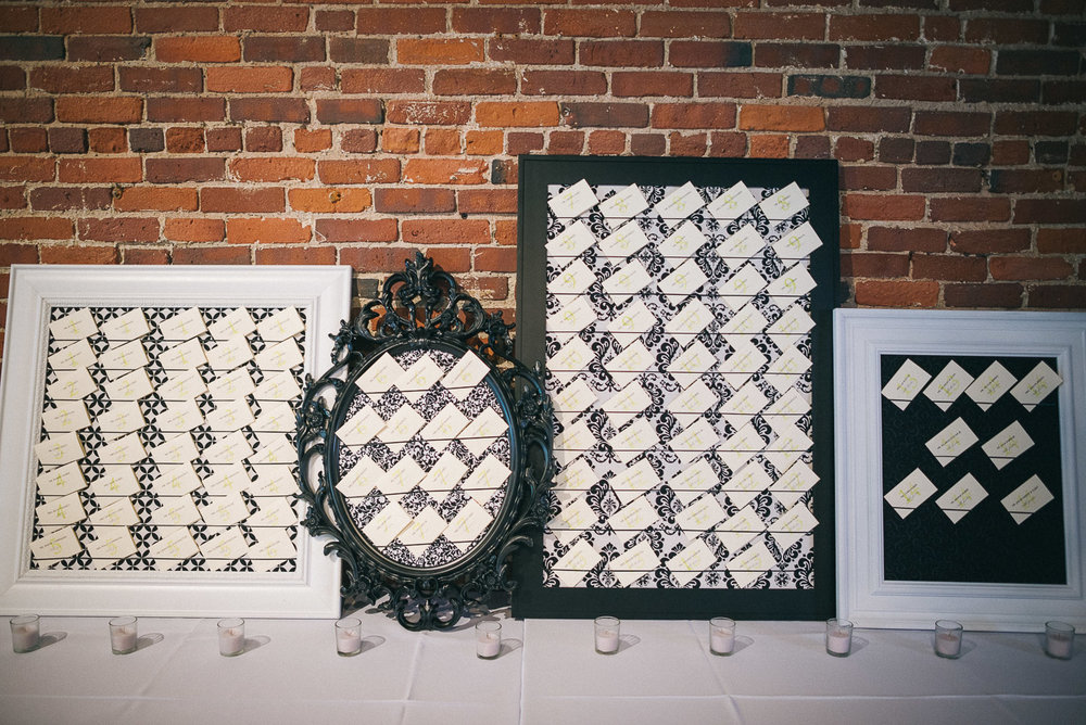 NH Wedding Photography: wedding reception details