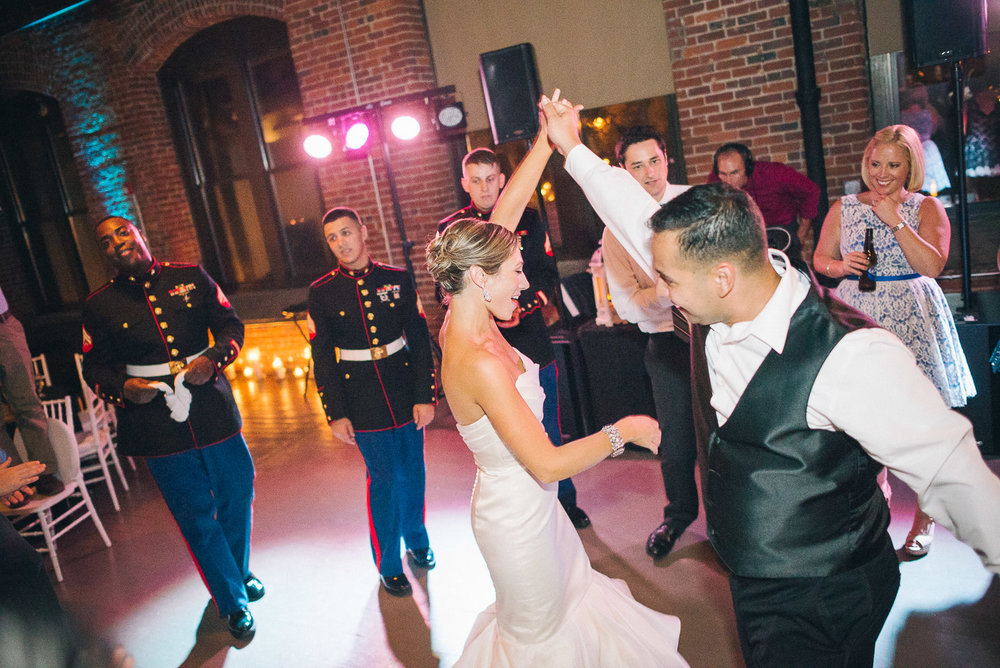 NH Wedding Photography: couple dancing