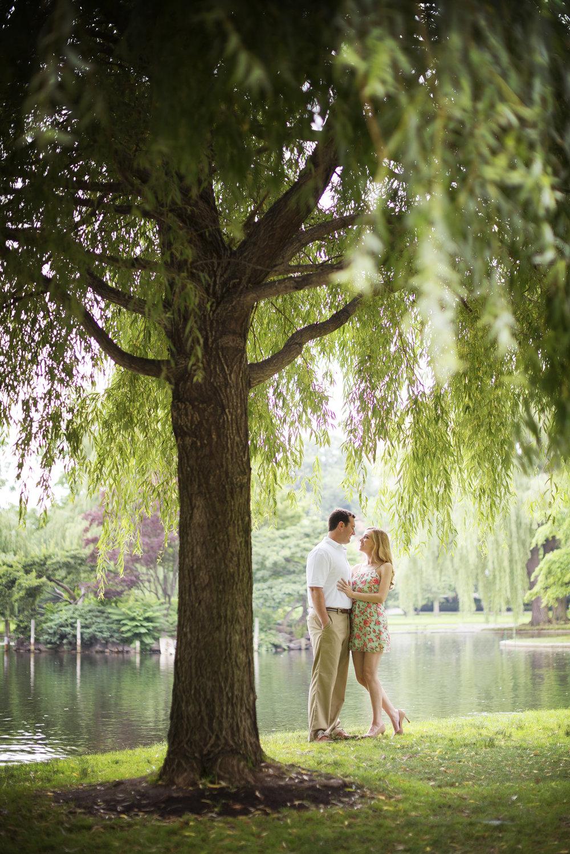 NH Wedding Photographer: Boston Public Garden