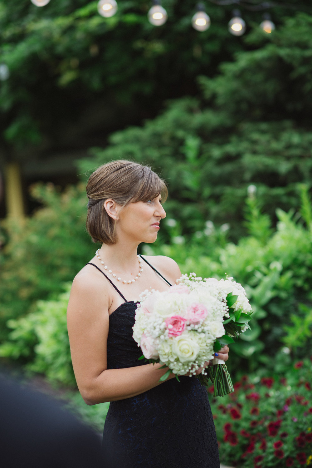 NH Wedding Photography: matron of honor