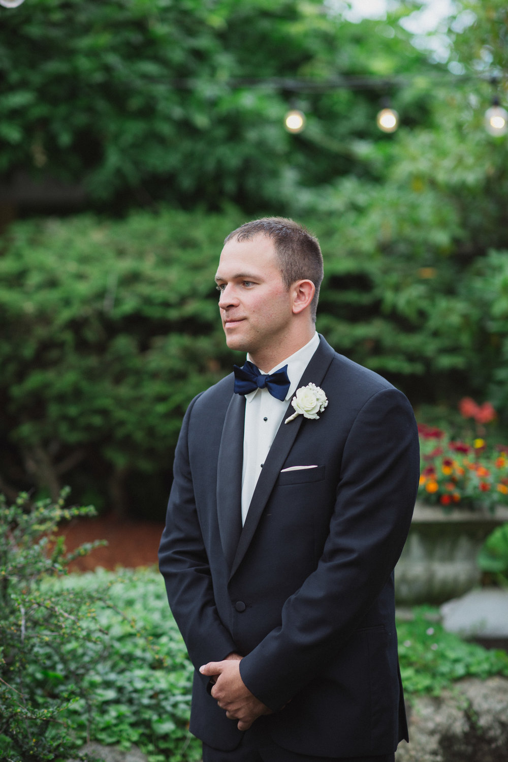 NH Wedding Photography: best man